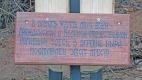 Памятный крест в деревне Выра