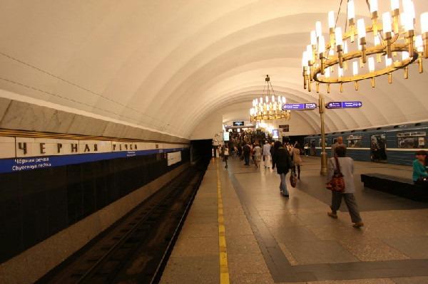 Станция метро «Чёрная речка»