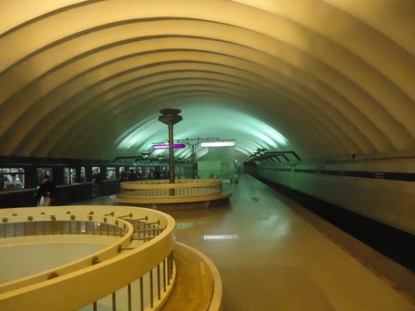 Станция метро «Спортивная»