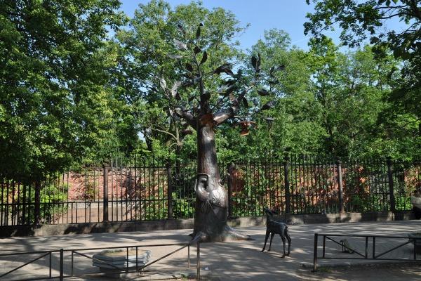 Памятник «Дерево желаний» в Кронштадте