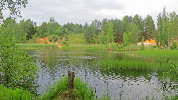 Озеро-карьер №2