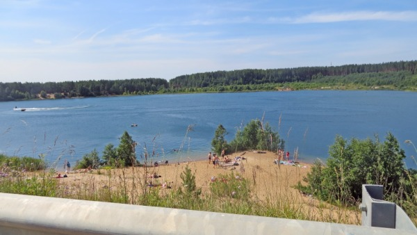 Озеро-карьер №4