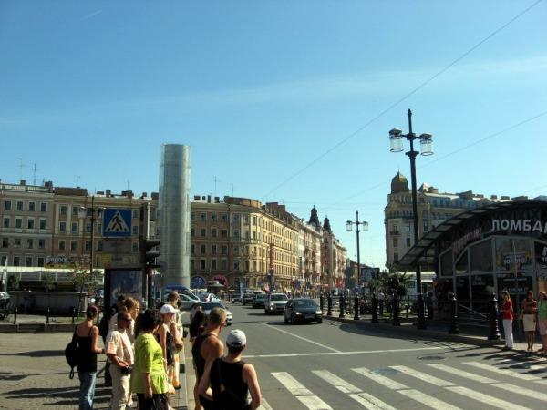 Сенная площадь в Санкт Петербурге