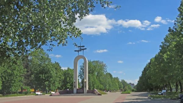 Памятник воинам, погибшим в Афганистане и в горячих точках