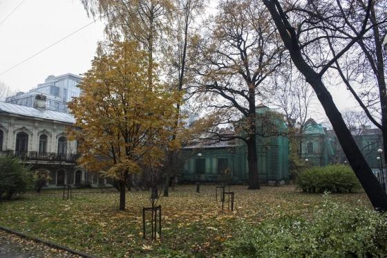 Особняк и оранжерея Эрнеста Игеля