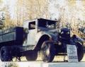 Памятник автомашине «ЗИС-5»