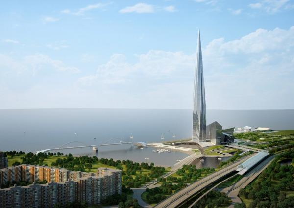 Общественно-деловой комплекс «Лахта-центр»