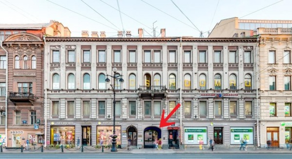 Open Hotel on Nevsky 61