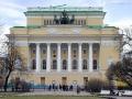 Площадь Островского в историческом центре города