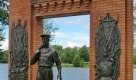 Памятник рабочему завода имени Воскова