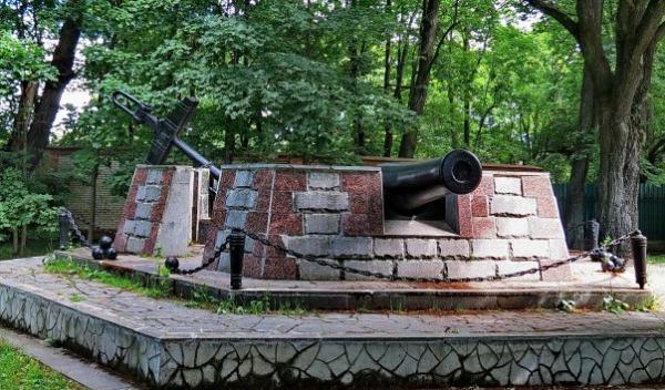 Памятный знак об основании Сестрорецкого оружейного завода
