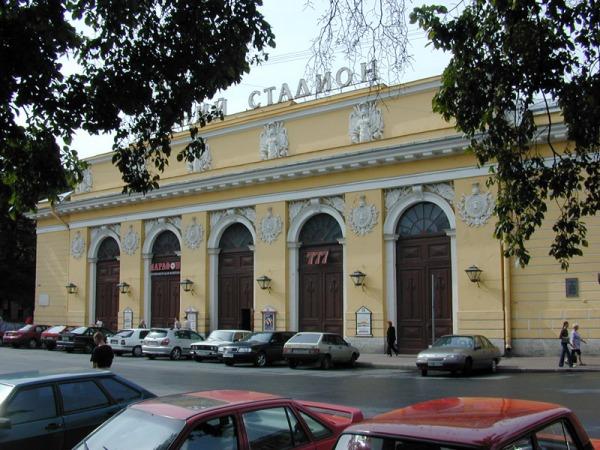 Манежная площадь в Петербурге