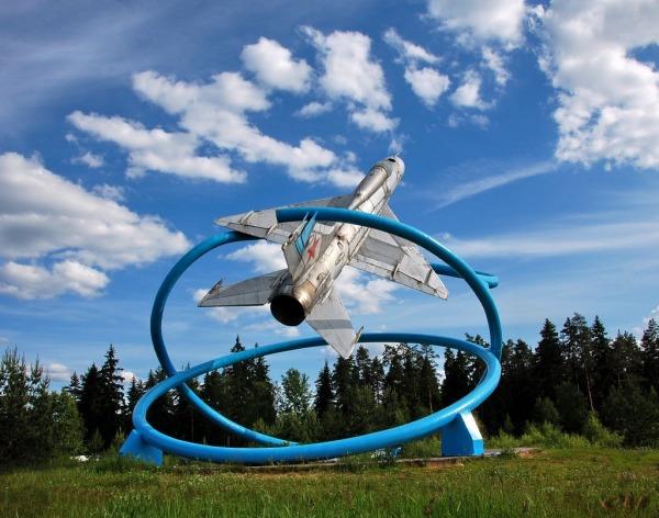 Мемориал «Самолет МиГ-21ПФ»