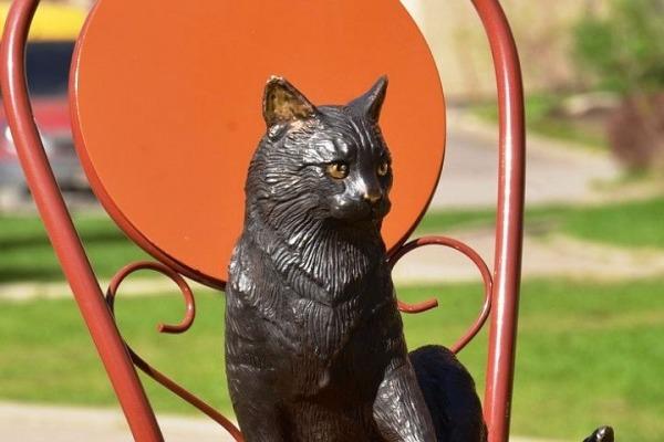 Памятник «О блокадных кошках Ленинграда»»