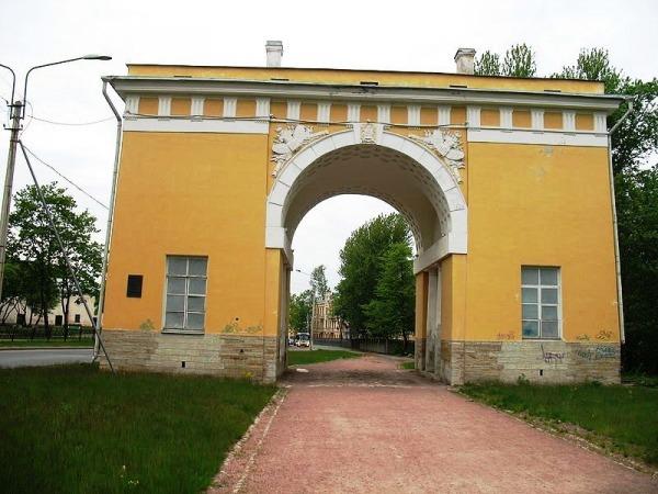 Городские ворота Ораниенбаума