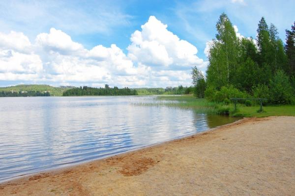 Пляж в парке им. 40-летия ВЛКСМ