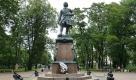 Памятник Петру I в Петровском парке