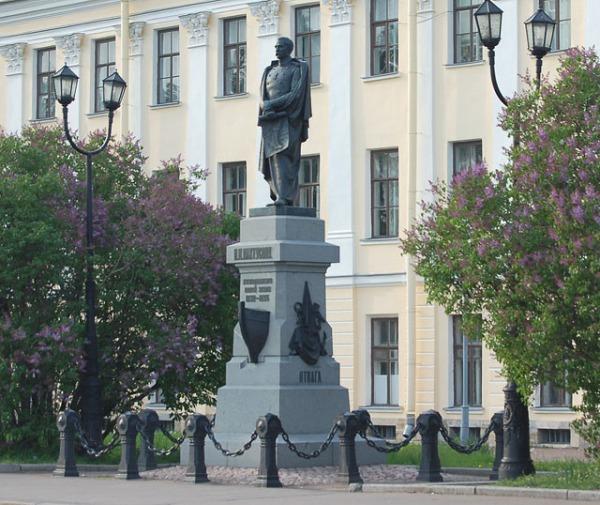 Памятник П.К. Пахтусову