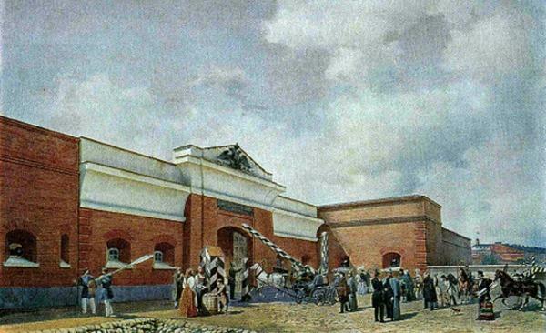 Петербургские ворота