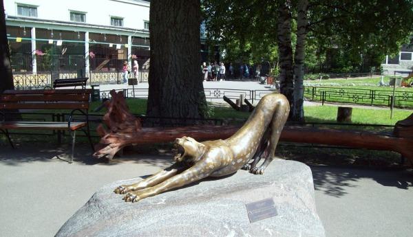 Скульптура «Гепард»