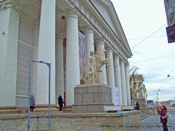Скульптурные группы «Диоскуры»