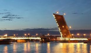 Развод мостов в Санкт-Петербурге. График на 2016 год
