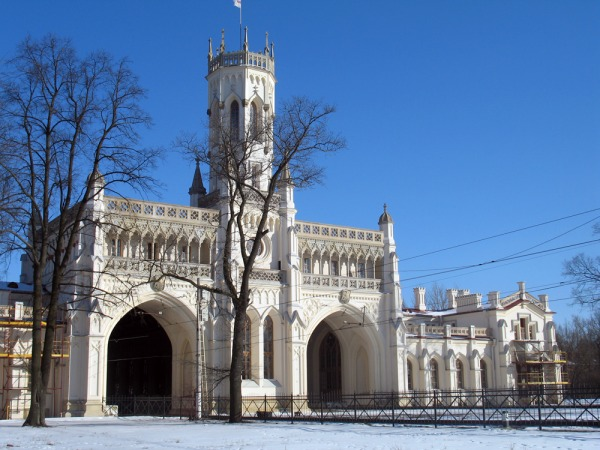 Новый Петергоф, железнодорожная станция