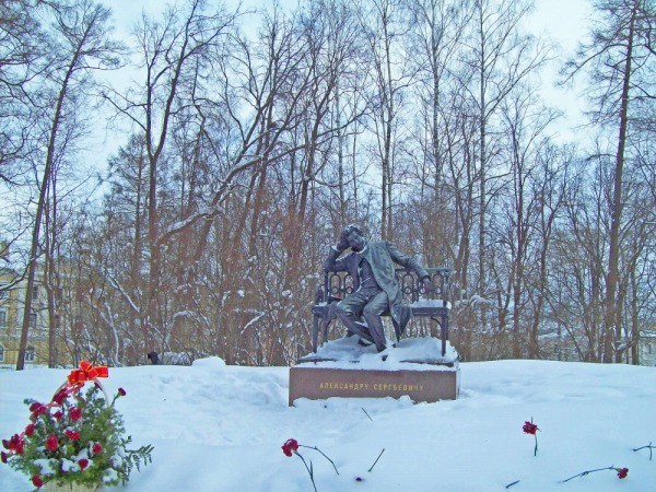 Памятник Александру Сергеевичу Пушкину в Лицейском саду