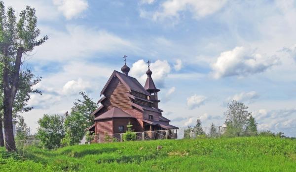Храм во имя святого страстотерпца царя Николая II