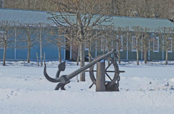 Памятный знак Купеческой гавани