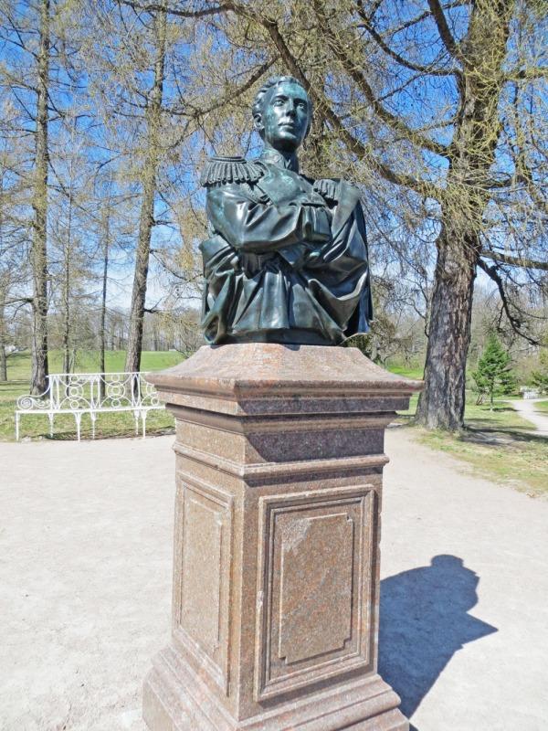 Бюст великого князя Николая Александровича