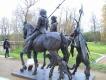 Скульптурная группа «Рыцарь, Смерть и дьявол»