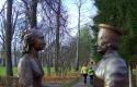 Скульптурная группа «Герцог Урбинский Федериго да Монтефельтро и его супруга герцогиня Баттиста Сфорца»