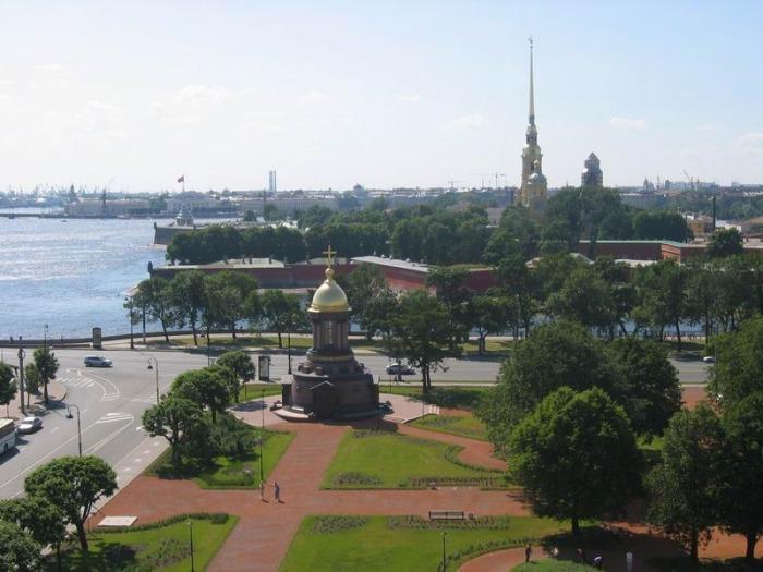 Троицкая площадь, Санкт-Петербург. Карта, фото, как добраться ...