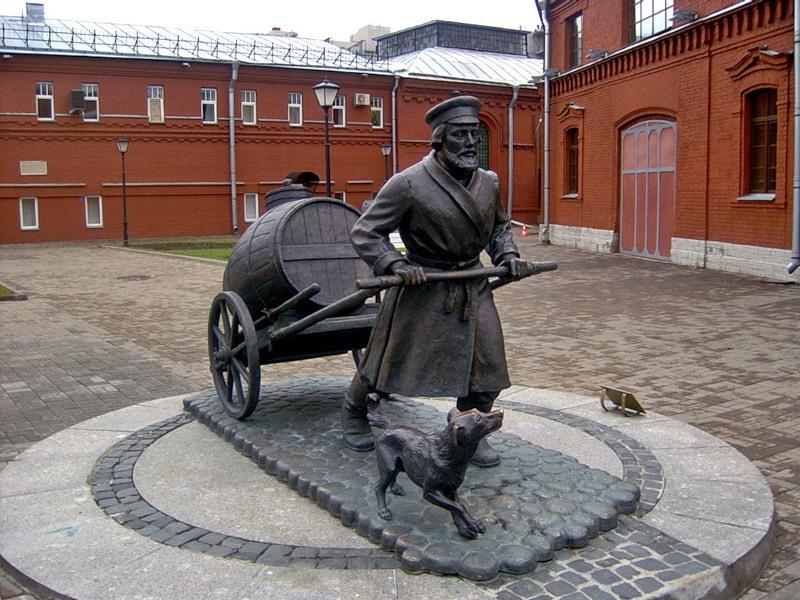 Памятник «Петербургский водовоз», Санкт-Петербург. Карта, фото ...